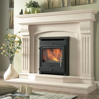 Portway Contemporary 4.7kw Defra Multifuel Inset Stove