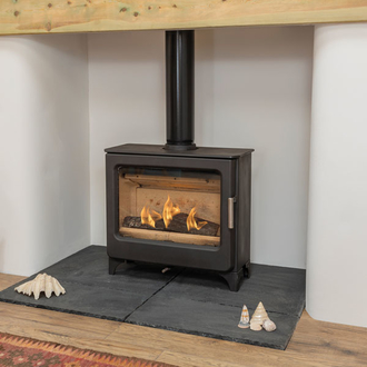 Mendip Ashcott 4.7kw Defra Wood Burning Stove (Wide)