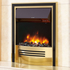 Celsi Accent Infusion 2kw Inset Electric Fire - Brass & Black
