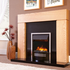 Celsi Accent Infusion 2kw Inset Electric Fire - Black & Chrome