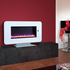 Celsi Touchflame 1.8kw Electric Fire - White