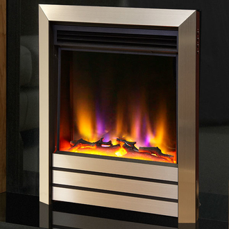 Celsi Electriflame VR Parrilla 1.5kw Inset Electric Fire - Champagne