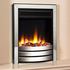 Celsi Ultiflame VR Designer 1.5kw Electric Fire - Chrome & Black