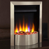 Celsi Ultiflame VR Contemporary 1.5kw Electric Fire - Satin Silver