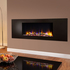 Celsi Ultiflame VR Metz 1.6kw Electric Fire - Black Textured