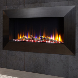 Celsi Ultiflame VR Instinct 1.6kw Electric Fire - Satin Black