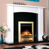 Celsi Electriflame XD Bauhaus 1.5kw Inset Electric Fire - Brass