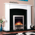 Celsi Electriflame XD Bauhaus 1.5kw Inset Electric Fire - Satin Silver