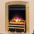 Celsi Electriflame XD Caress Daisy 1.5kw Inset Electric Fire - Brass