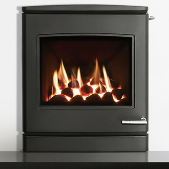 Yeoman CL7 4.5kw Inset LPG Gas Stove With Manual Control & Coal Effect- Balanced Flue