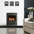 Yeoman CL7 4.5kw Inset LPG Gas Stove With Remote Control & Coal Effect- Balanced Flue