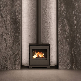 F2 Fires Thea 5S 4.9kw Defra Multi Fuel Stove