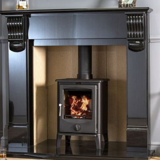 F2 Fires Accona Spinner 5kw Defra Multi Fuel Stove