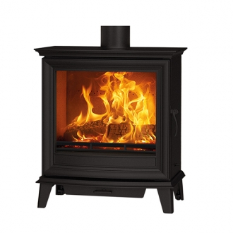 Stovax Chesterfield 5 Wide - 5kw Defra Wood Burning Stove