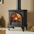 Stovax Huntingdon 28 - 6kw Multifuel Stove With Tracery Door