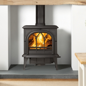 Stovax Huntingdon 35 - 7kw Multifuel Stove With Tracery Door