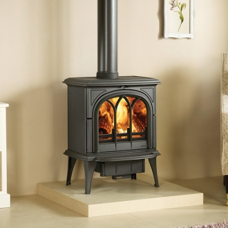 Stovax Huntingdon 40 - 9kw Wood Burning Stove With Tracery Door