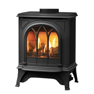Gazco Huntingdon 20 - 2.6kw Balanced Gas Stove with Tracery Door