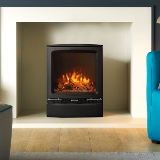 Gazco Vogue Midi 4kw Natural Gas Stove - Balanced Flue