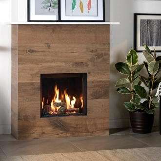 Gazco Riva2 400 - 3.8kw Gas Fire with Conventional Flue - LPG