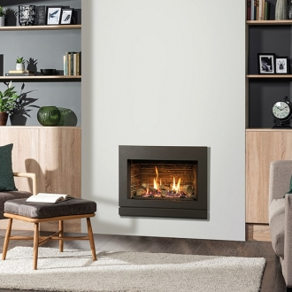 Gazco Riva2 600 5kw Gas Fire with Conventional Flue - LPG