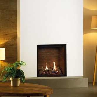 Gazco Riva2 600HL 5.3kw Gas Fire with Conventional Flue - LPG