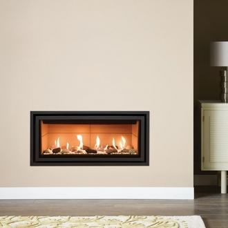 Gazco Studio 1 - 4.6kw Glass Fronted Conventional Gas Fire